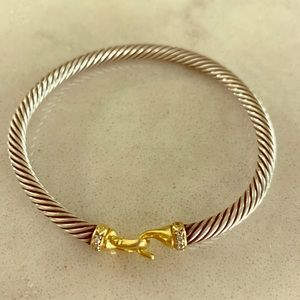DAVID YURMAN Buckle Cable Bracelet